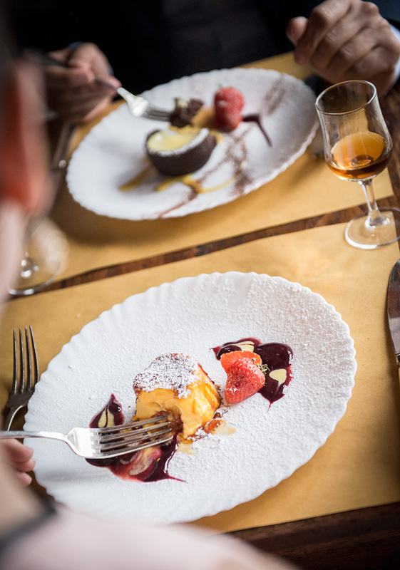 Delicious Desserts served at Osteria Boccanegra Florence