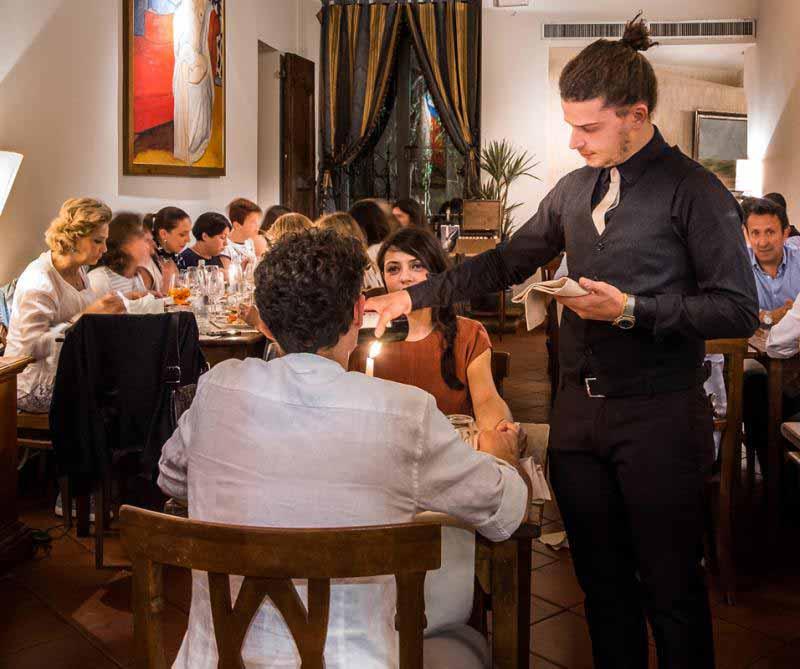 Cena romantica Ristorante Boccanegra a Firenze
