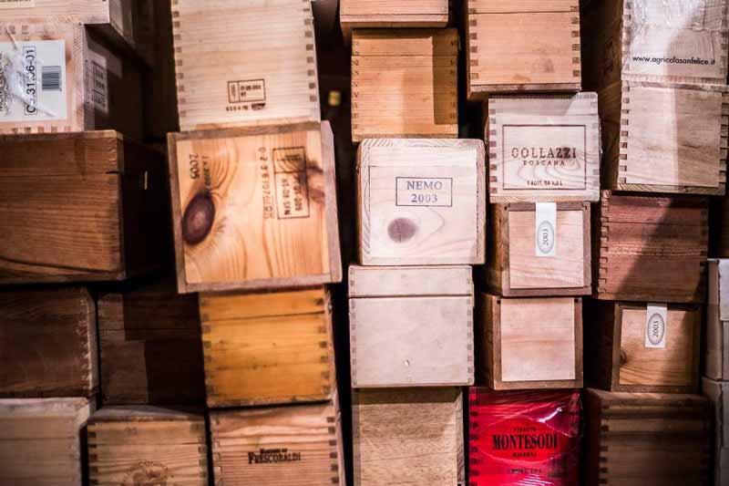 Grandi vini anche per pranzo al Boccanegra