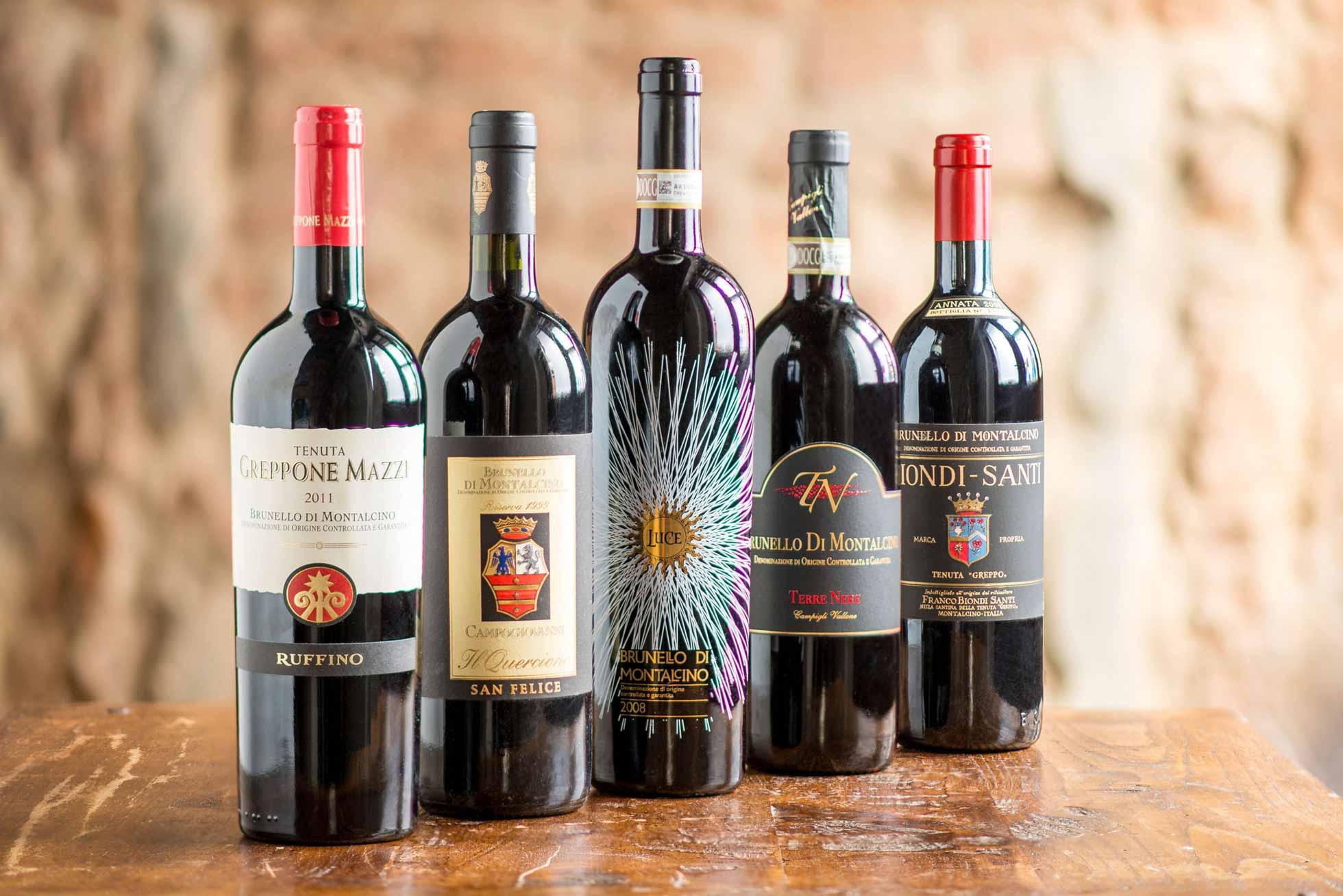Brunello di Montalcino - Wines - Boccanegra Restaurant Florence Italy