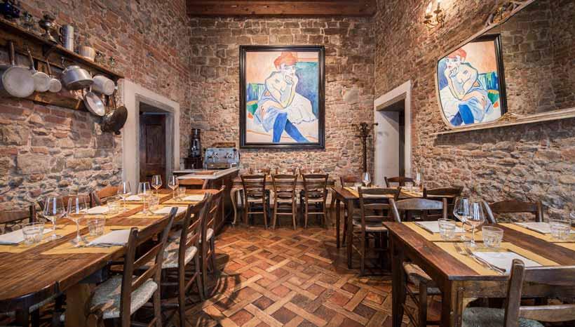 Cena aziendale in centro a Firenze