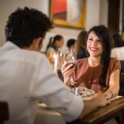 Romantic Dinner for two people at Boccanegra Restaurant in Florence