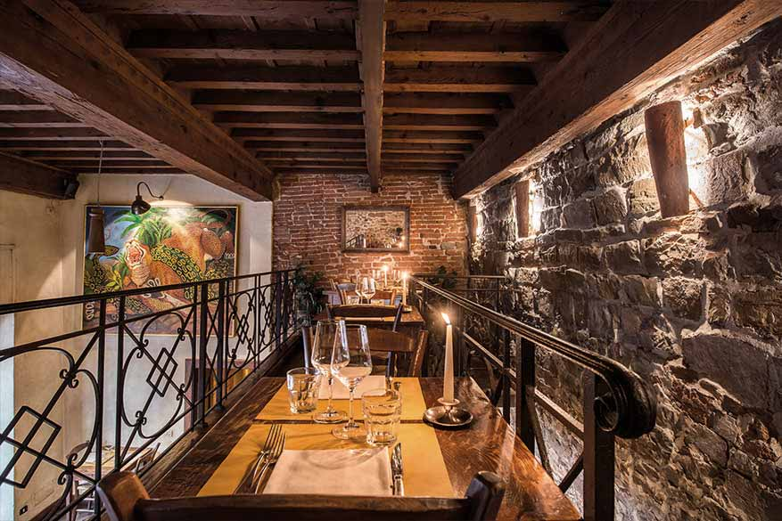 Osteria Boccanegra - il Ballatoio romantico