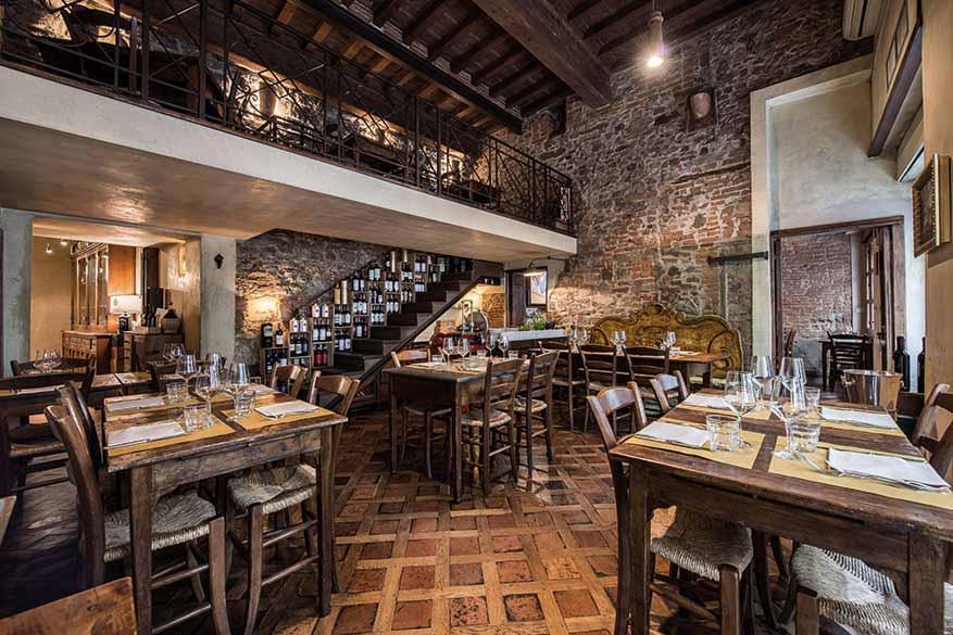 Osteria Boccanegra - La prima sala