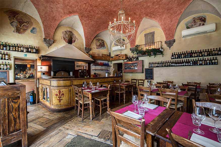 Pizzeria Boccanegra Firenze - Sala