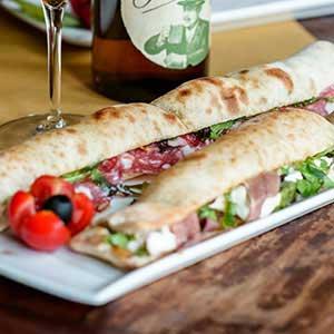 Le sfiziose Zonzelle Ripiene del menu Pausa Pranzo al Boccanegra