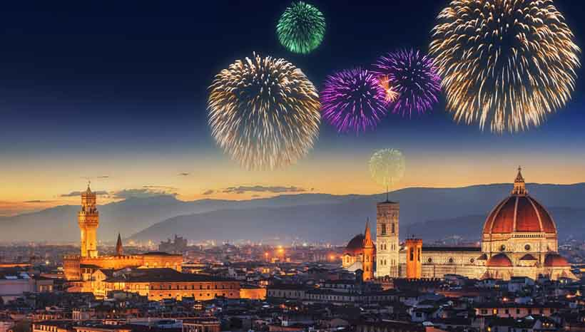 New Year's Eve in Florence at Boccanegra Restaurant