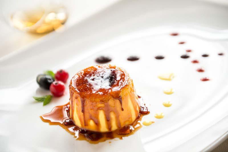 Cream in Caramel Cage - Boccanegra Restaurant Florence