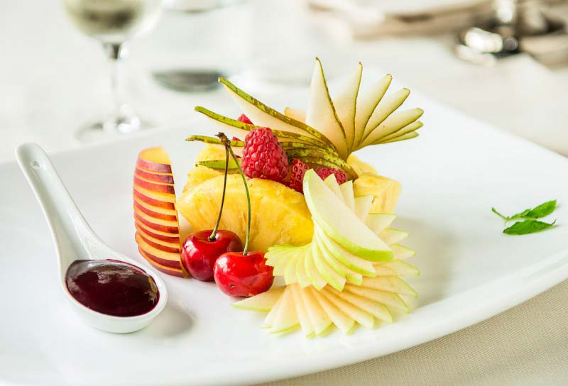 Mixed fruit dish - Boccanegra Florence Restaurant