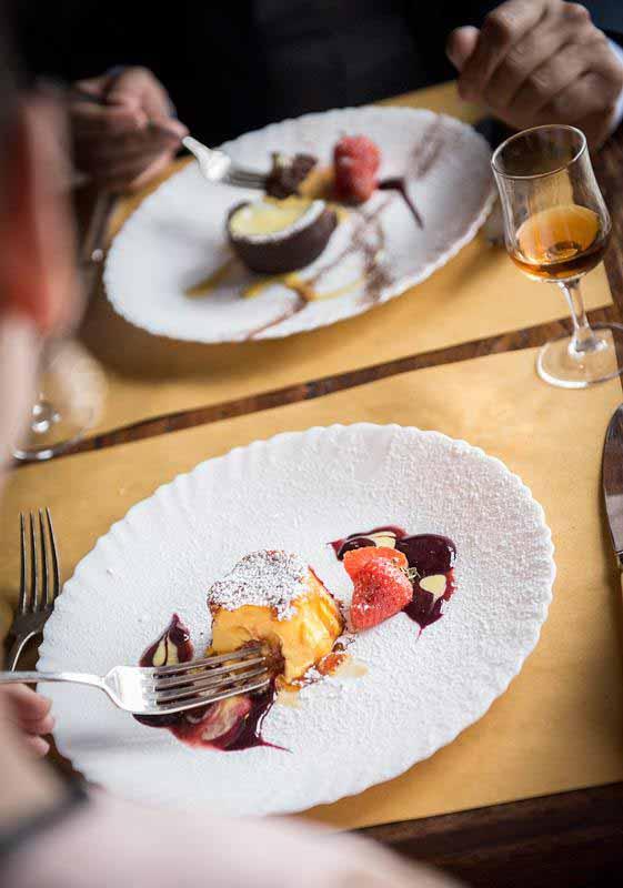 Dessert alla Osteria e Ristorante Boccanegra di Firenze