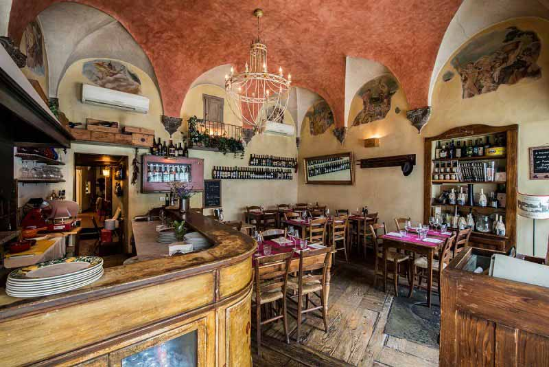 Sala da Pranzo al Boccanegra Firenze