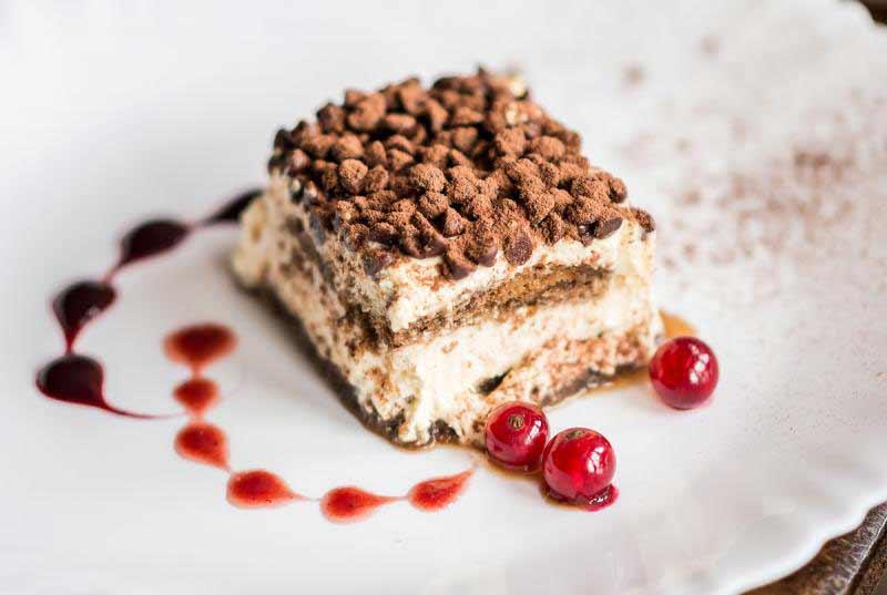 Tiramisù una ricetta sempre presente nel menù del Ristorante e Osteria Boccanegra a Firenze